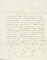 Letter to Mary Collamer, February 2, 1845