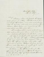 Letter to Mary Collamer, February 14, 1847
