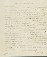 Letter to Samuel P. Crafts, March 25, 1820