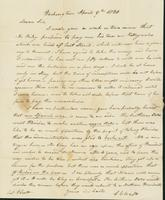 Letter to Col. Joseph Scott, April 9, 1820