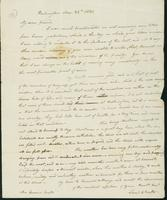 Letter to Eunice Todd Crafts, December 25, 1820