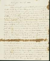 Letter to Samuel P. Crafts, December 3, 1821