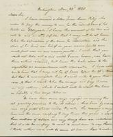 Letter to Col. Joseph Scott, March 23, 1820