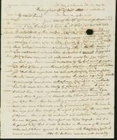 Letter to Eunice Todd Crafts, December 10, 1820