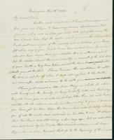 Letter to Eunice Crafts, February 13, 1825