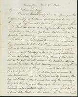 Letter to Nathan and Mary Hill, April 30, 1842
