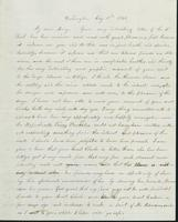 Letter to Mary Hill, July 10, 1842