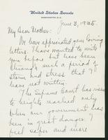 Letter to Mrs. C.G. (Ann) Austin, June  03, 1935