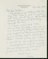 Letter to Mrs. C.G. (Ann) Austin, April 26, 1938
