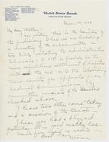 Letter to Mrs. C.G. (Ann) Austin, March 14, 1939