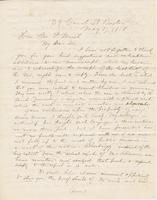 Letter from AUSTIN JACOBS COOLIDGE to GEORGE PERKINS MARSH,                             dated May 17, 1858.
