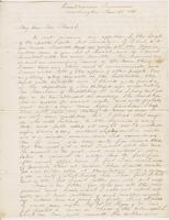 Letter from SPENCER FULLERTON BAIRD to GEORGE PERKINS MARSH,                             dated January 20, 1852.