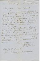 Letter from SPENCER FULLERTON BAIRD to GEORGE PERKINS MARSH,                             dated January 29, 1852.