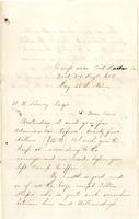 William Bruidnell to William Wirt Henry